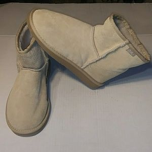 EMU AUSTRALIAN SUEDE PIGSKIN PULL ON BOOTS